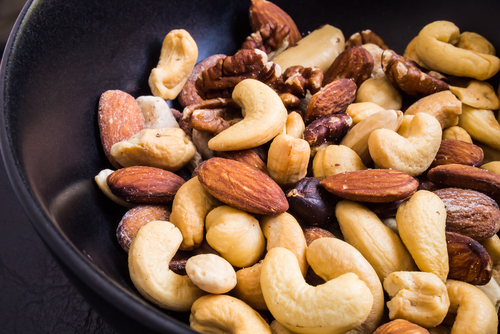 Restaurant menus and dishes can be enriched with nuts