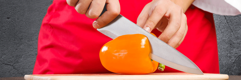 Learning to use a chef's knife properly will make using it more comfortable and safe.