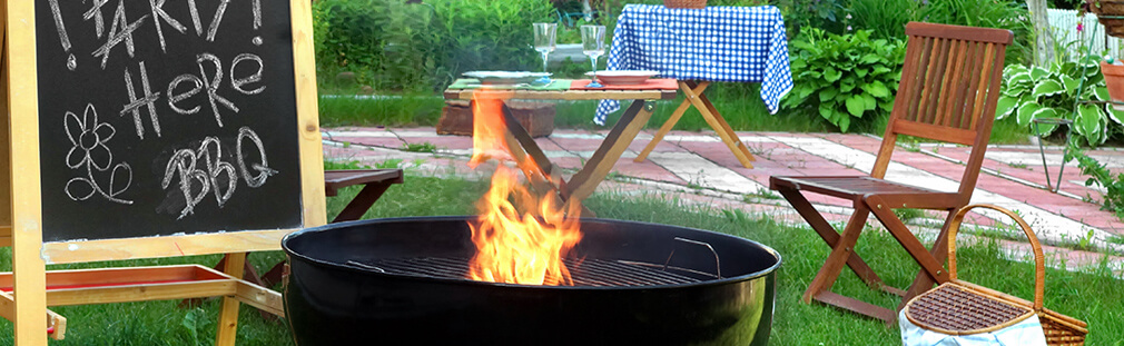 Get ready for a Backyard Barbecue by cleaning and prepping your grill, planning your menu and prepping your patio so that you have a super grilling season