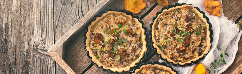 How to make a foolproof mushroom quiche
