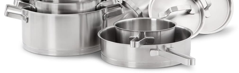 Stainless steel commercial cookware