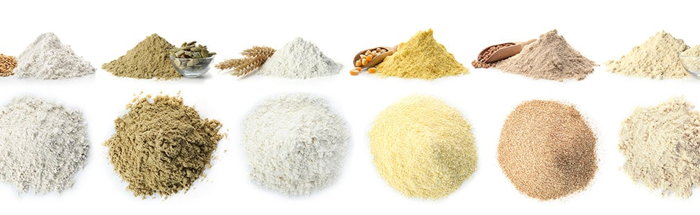 Alternative flours are now trending in recipes and restaurant menus