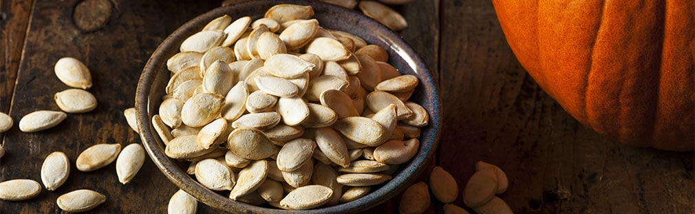 Pumpkin seeds serving suggestions