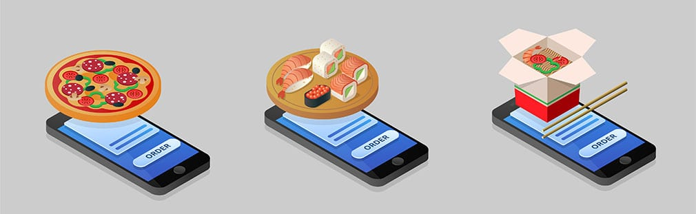 Digital pre-ordering and advanced pickup options boom in foodservice.