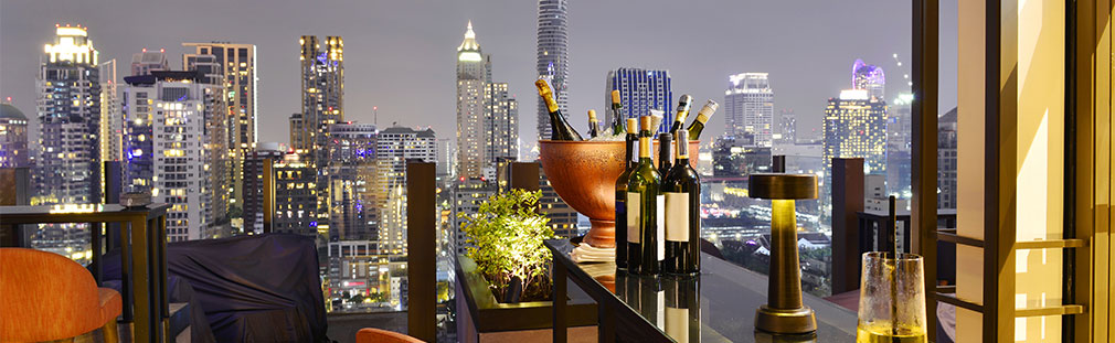 Discover the enchantment of rooftop bars and how you can wow your customers.