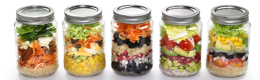 Learn how mason jar meals and desserts-in-a-jar can generate renewed interest menus.
